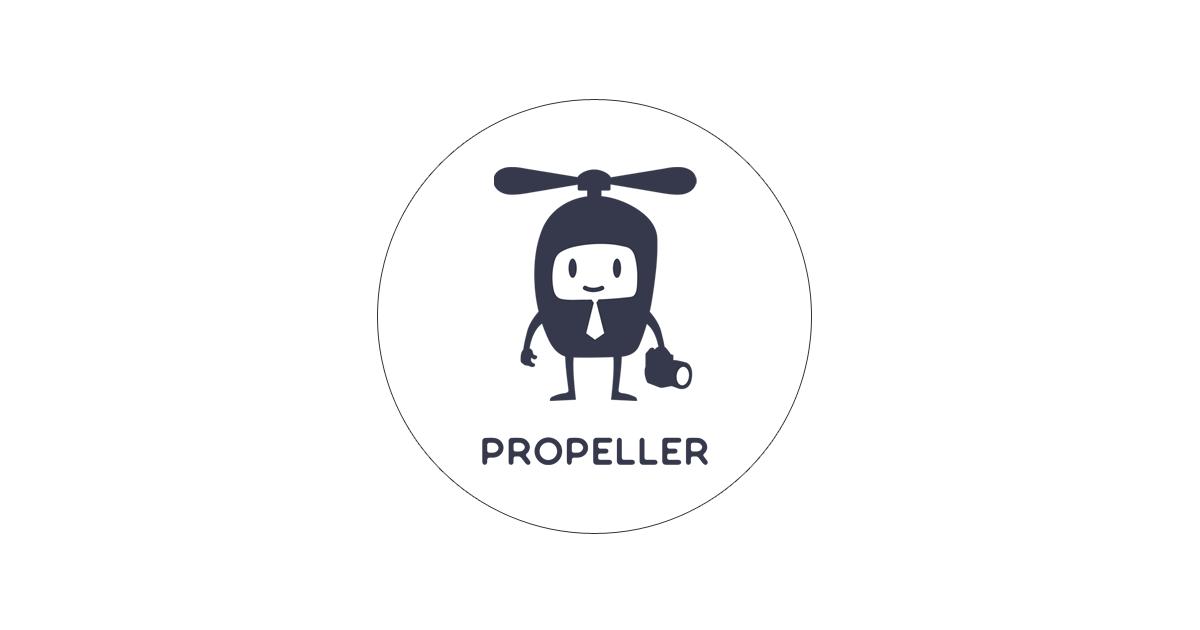 プロペラのロゴ